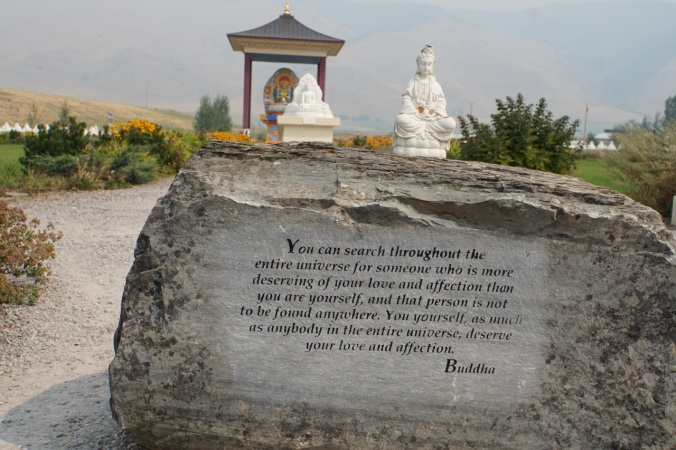 September 5 part 1 garden of one thousand buddhas be brave traveler Garden of one thousand buddhas